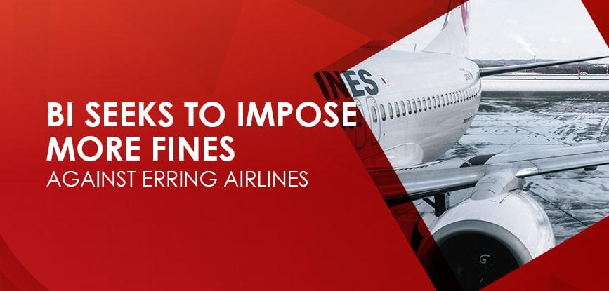 BI Fines Erring Airlines