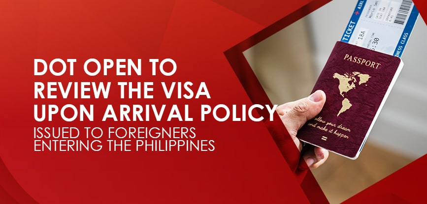 Visa Upon Arrival Policy -min