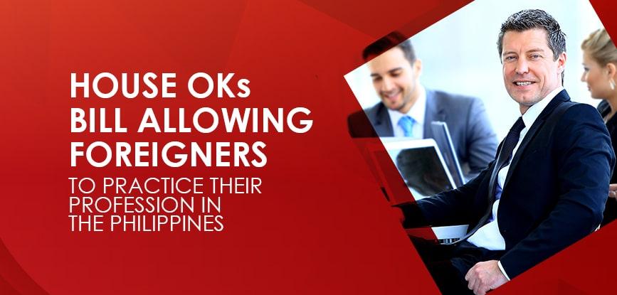 Foreigner Practice Profession Philippines