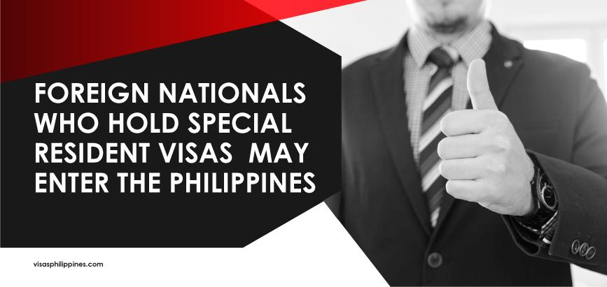 Special Resident Visas